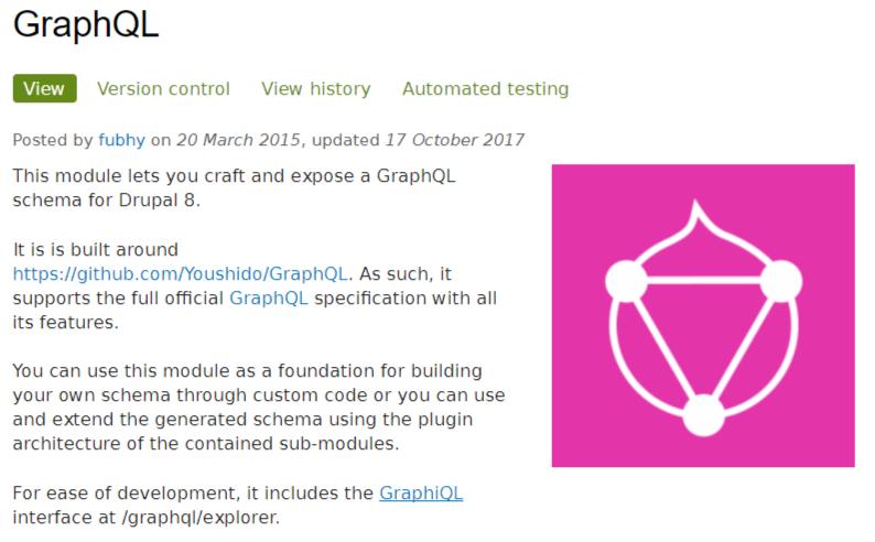 GraphQLモジュール